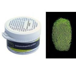 obrázek Prášek mag. fluoresc. duální bílý-zelená fluorescence