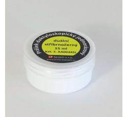 obrázek Prášek duální stříbrnočerný, jednorázový, 15 ml