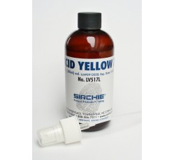obrázek Acid Yellow 7, roztok