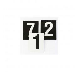 obrázek Čísla plast. 1-10 (5x8 cm) oboustranná