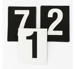 obrázek Čísla plast. 1-10 (10x16 cm) oboustranná