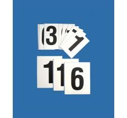 obrázek Čísla 0-9 (5x8 cm) magnetická