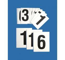 obrázek Čísla 0-9 (8x10 cm) magnetická