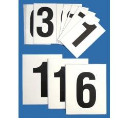 obrázek Čísla 0-9 (10x16 cm) magnetická