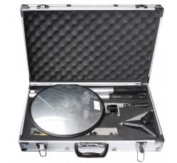 obrázek Zrcadlo inspekční Ø 30 cm, teleskopické 3 m, v kufříku