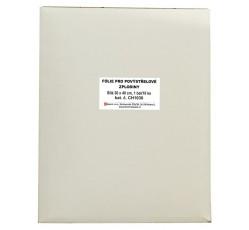obrázek Fólie pro povýstřel. zplodiny bílá, 30x40 cm