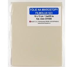 obrázek Fólie na mikrostopy Filmolux 23, 10 x 13 cm
