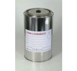 obrázek Nádoba na vzorky z požářiště s ventilem 1000 ml