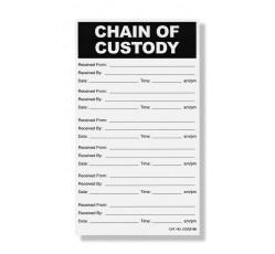 "obrázek Samolepka ""Chain of Custody"""