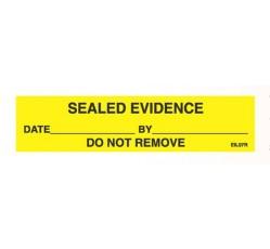 obrázek Samolepka Evidence žlutá, role