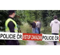 obrázek Páska vytyčovací červeno/bílá, PČR/VSTUP ZAKÁZÁN