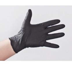obrázek Rukavice nitrilové forenzní, černé, nepudrované