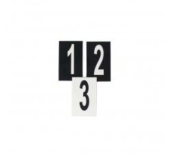 obrázek Čísla plast. 0-99 (3x5 cm) oboustranná