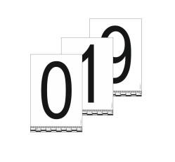 obrázek Čísla 0-9 (10x15 cm) na statické fólii
