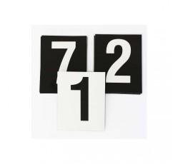 obrázek Čísla plast. 1-20 (8x10 cm) oboustranná